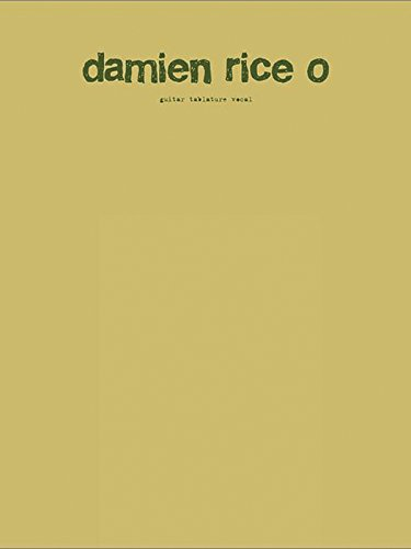 DAMIEN RICE O (Faber Edition)