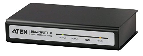 ATEN VS182 HDMI Audio Video Splitter Verteiler 1:2 1 zu 2 2port 2ach VS-182