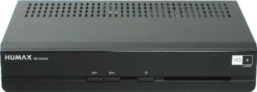 Humax HD-Nano, HDTV Satelliten Receiver (HD+, HDMI Ausgang, Dolby Digital Ausgang, PVR-Ready Funktion, inkl. HD+ Karte für 1 Jahr)