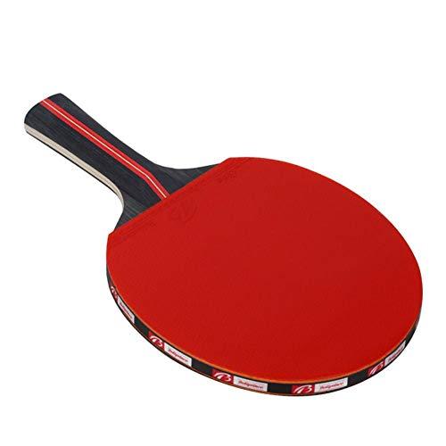 bulrusely Tischtennisschläger, 2 Tischtennisschläger + 3 Bälle + 1 Tasche, Tischtennis-Set für Anfänger und Fortgeschrittene Spieler, 11.026.302.83in