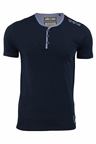 Brave Soul Herren T-Shirt Marineblau