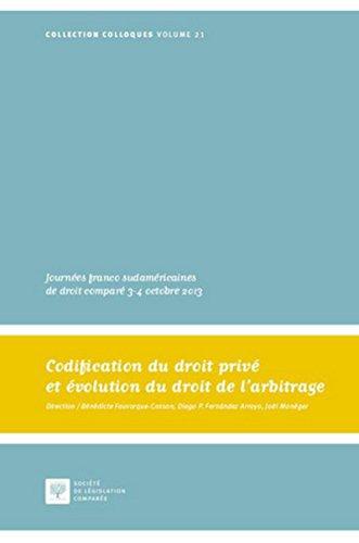 Codification du droit privé et évolution du droit
