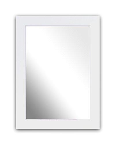 Inov8 A4 Kayla British marco de madera de 4 unidades, espejo, blanco