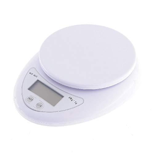 Sensor de galga extensométrica de alta precisión Automático cero apagado automático.La báscula versátil se puede utilizar en la cocina, en la sala de correo u oficina.Indicador de batería / indicador de sobrecarga de múltiples unidades Función de rel...