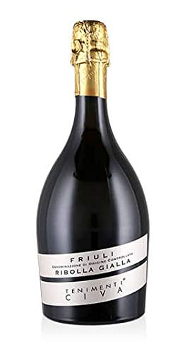 Vino Spumante Friuli DOC Biele Zôe Ribolla Gialla Extra Brut,0,75