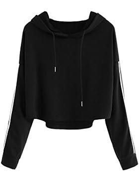 Sudaderas mujer Amlaiworld Moda manga larga sudadera con capucha mujer blusa causal topscamisetas mujer
