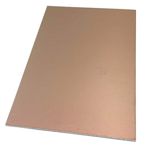 AERZETIX Platte aus Kupfer für Leiterkreis 160/100 / 1,5 mm 105 μm Epoxidharz C40740