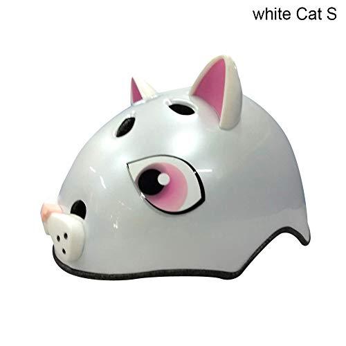 Alextry Fahrradhelm Strada Ultra Light City Helmet für Rennrad Sport Aperta Small White Cat