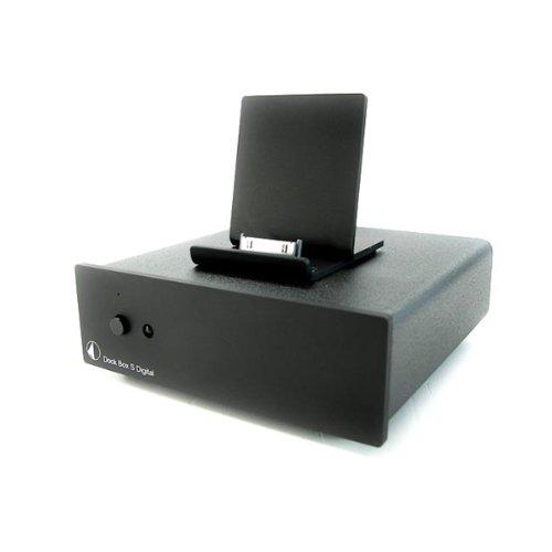 Pro-Ject Dock Box S Digital Dockingstation für Apple iPod schwarz (Ipod Dock Station)