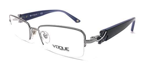 Vogue occhiali da vista donna vo 3779 - b argento e viola 548 strass