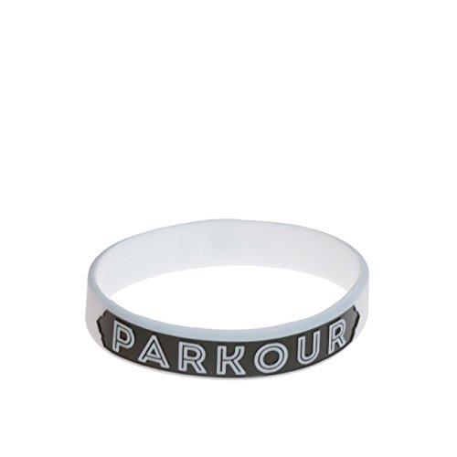 Armbänd Parkour Weiß Klein