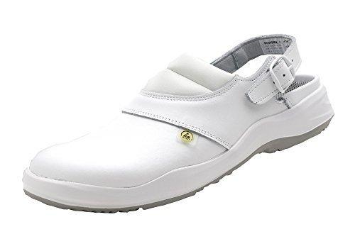 Schürr Berufsschuhe'Lauf' - zertifiziert nach EN ISO 20347:2012 SRC, Farbe: Weiß, Gr: 38