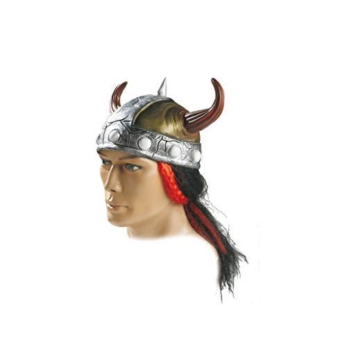 El Rey del Carnaval - Casco vikingo con pelo