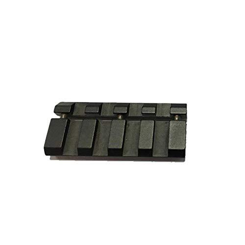 Zdmathe 11mm Picatinny Weaver Schiene Keymod Verlängerung Mount Adapter mit 4 Slots für Jagd Scope Zielfernrohr Montage -
