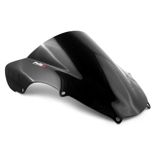 Racingscheibe Puig Suzuki GSX-R 600 01-03/ GSX-R 750 00-03/ GSX-R 1000 01-02 schwarz