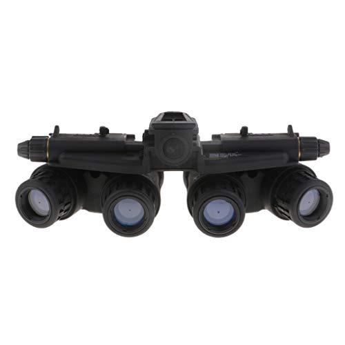 IPOTCH schwarz Nachtsichtgerät Nachtsichtbrille Nachtsichtfernglas Dummy GPNVG-18 1:1Modell Nachtsicht Schutzbrillen Modell