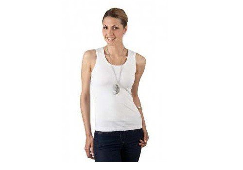 Shirt Toff Togs Top Women Lybwylson diversi by colori Bianco