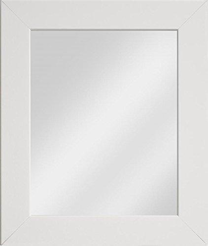 Frame Company Watson Range Spiegel, gerahmt, holz, weiß, 16 x 12 Inches