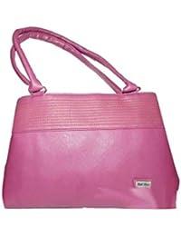 Adiari Fashion Pink Coloured Stylish Hand bag For Women