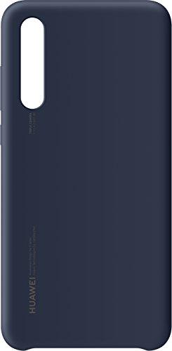 Huawei Silicon Case Blu Scuro per P20 Pro, Accessorio Originale