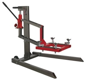 Sealey MCL500 Single Post Motorcycle Lift 450kg