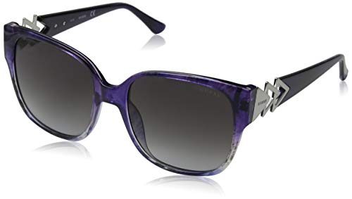 Guess Damen Sunglasses Gu7597 83B 56 Sonnenbrille, Violett,
