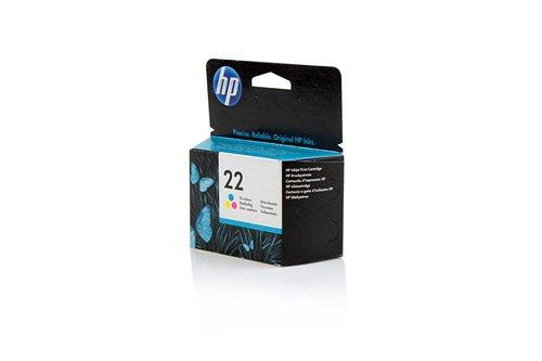 Original HP C9352AE / 22, für OfficeJet 5610 Premium Drucker-Patrone, Cyan, Magenta, Gelb, 165 Seiten, 5 ml - Hp Drucker 2300 -