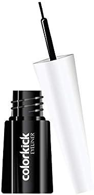 Lotus Makeup Colorkick Insta Shine Liquid Eyeliner, Black, 3 ml