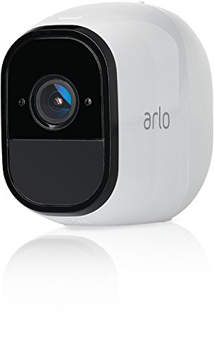 Arlo VMC4030 Additional Camera for Wireless Video Surveillance System with 2 Audio Vie, Battery, Hd, Night Vision, Indoor / Outdoor, Works with Alexa and Google Wifi