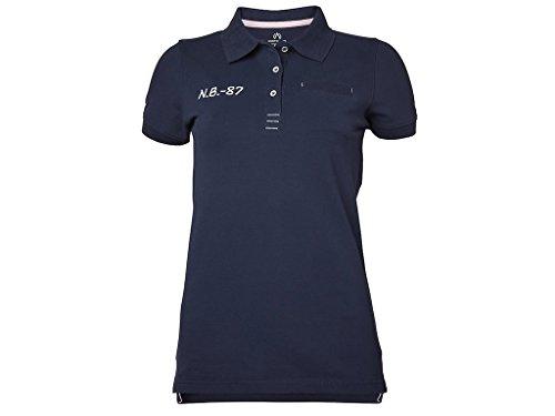 North Bend Carly Pique Poloshirt Damen Größe L dunkelnavy 5831