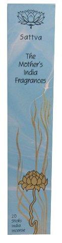 SATTVA, Traditional Line hohe Qualität Fair Trade handgefertigt Räucherstäbchen, die Mutter von der Indien Düfte-20Joss Räucherstäbchen-Woody & Floral Duft mit einem Hauch von Früchten und Gewürzen-Brenndauer 1-2Stunden-Ideal für entspannende Meditation-Versandkostenfrei.