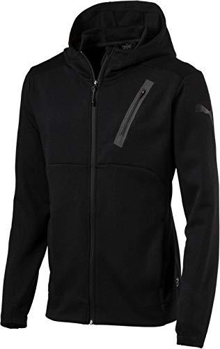 PUMA Herren Dri Release BND Tech Jacket Jacke, Black, S (Dri-fit-puma)