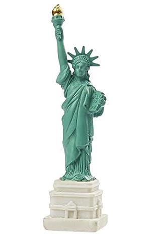 Statue de la Liberté New York Statue of Liberty 11cm sculpture décorative Décoration de gâteaux