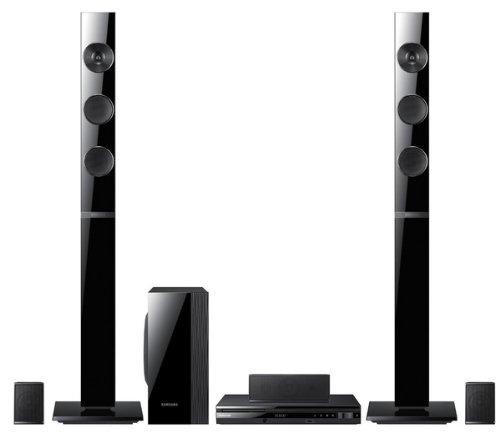 Samsung HT-E453 cine en casa - Equipo de Home Cinema (Reproductor de DVD, CD, CD-R, CD-RW, DVD, DVD+R, DVD+RW, DVD-R, DVD-RW, DIVX, WMV, 1000 W, 5.1, Dolby Digital, Dolby Pro Logic II, DTS) Negro