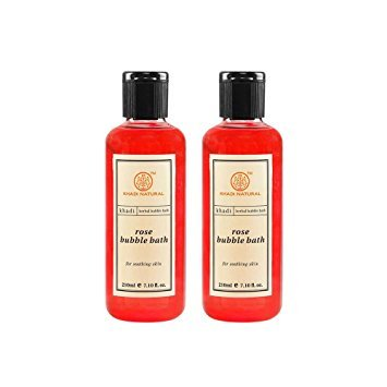 Herbal Rose Schaumbad (210 ml) - von Khadi Organic Natural -