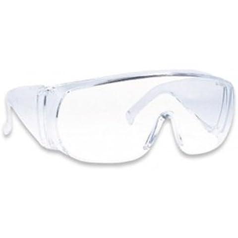 Occhiali Protettivi Laboratorio, Vetro Trasparente