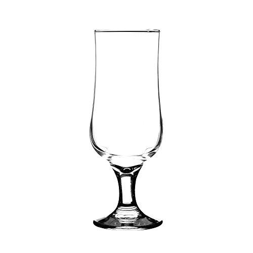 Rayware 0187.153 Tulip Stem Beer 40cl, Set X 4 - 4 Hi-ball Gläser
