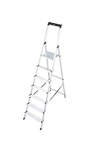 """Krause Stufen-Stehleiter """"Solidy"""" 7 Stufen"""