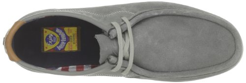 Base London - Catch, Scarpe stringate Uomo Grigio (Gris (Suede Grey))