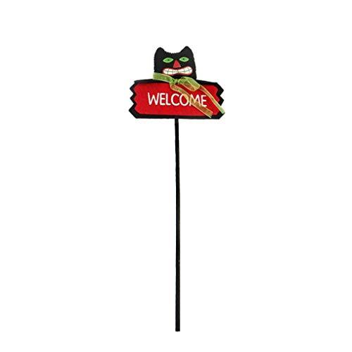 Coco Einzigartige Halloween Schwarze Katzen-Kürbis-Geist-Puppen Kinder Willkommen Wand für Festival Tanzen-Partei