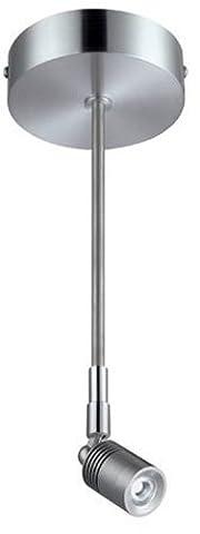 Lite Source LS-17801ALU Feo Semi-Flush Fixture, Aluminum by Lite Source
