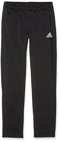 adidas Kinder Tiro 17 Trainingshose, Black/White, 128