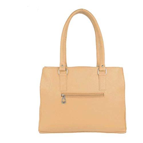 Best college bags for girl in flipkart in India 2020 JSPM® Casual Shoulder Bag Women & Girl's Handbag Fashion Tie Mustard (SP-261) Image 3