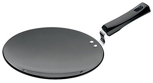 Futura Hard Anodised Tawa with Plastic Handle, 26cm  available at amazon for Rs.945