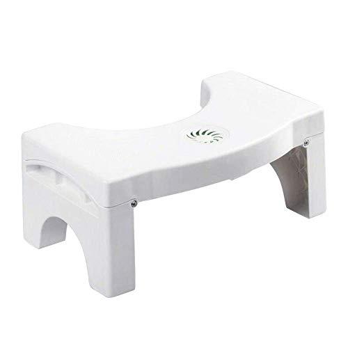 Tragbare Toilette Stühle (Monlook Umklappbar Multi-Funktions Toilette Stuhl Tragbar Step für Heim Badezimmer)