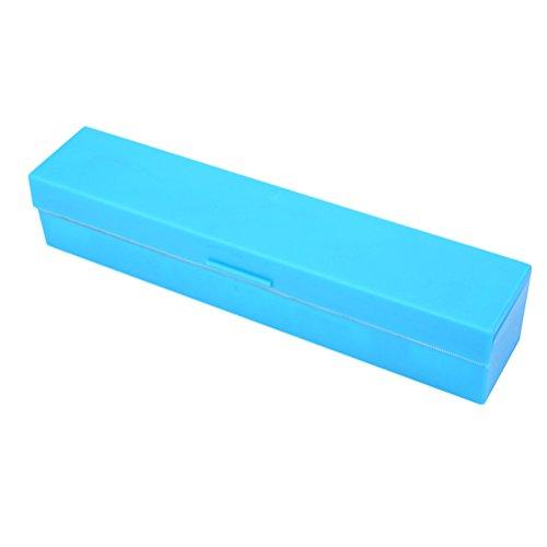 OUNONA Dispensador cortador de film de cocina de acero inoxidable (azul)