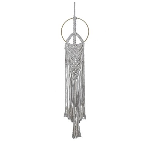 Sunlera Kreis-Form Lange Böhmischen Makramee Tapestry Baumwolle Woven Start Hochzeit Dekoration Hängen Wand-Deko