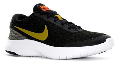 NIKE Men's Black/Olive Flex Experience RN7 Running Shoes (908985 015)