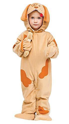 Fancy Me Baby Kleinkind Tier Overall Halloween büchertag Kostüm Kleid Outfit 6 Monate - 2 Jahre - Welpe, 12-24 Months