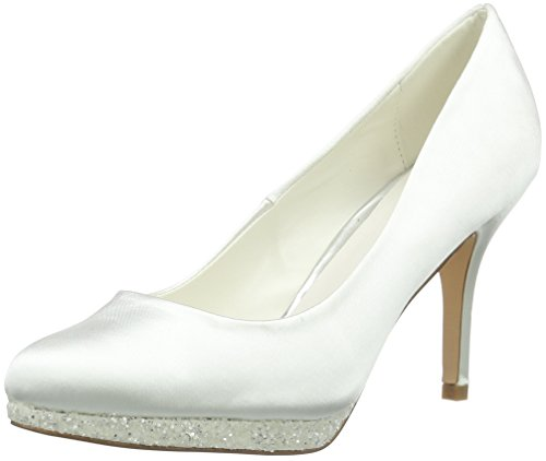 Menbur Wedding Damen Cecilia Pumps, Elfenbein (Ivory), 37 EU